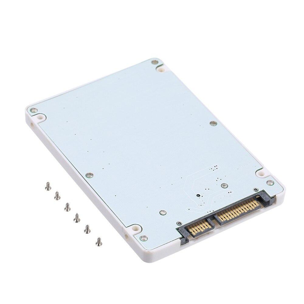 1.8 Inch Micro SATA 16 Pin To 2.5 Inch SATA 22 Pin 7+15 Adapter Card Hard Disk External Case SSD Enclosure 7mm Thickness