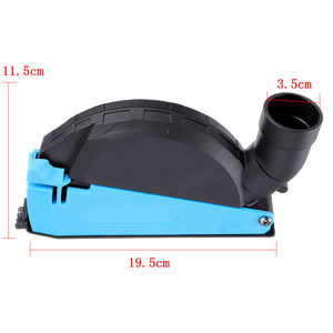 Image 5 - Universal Surface Cutting Dust Shroud For Angle Grinder 4 Inch to 5 Inch Dust Collector Attachment Cover Tool New