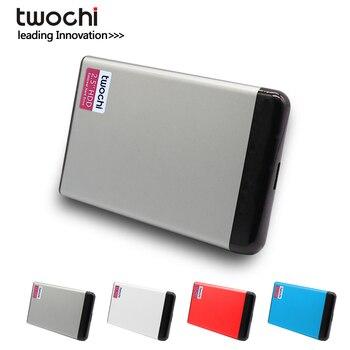 цена на TWOCHI USB 3.0 80GB 120GB 160GB 250GB 320GB 500GB 1TB Portable External Hard Drive 2.5 HDD External HD Hard Disk for PC Mac
