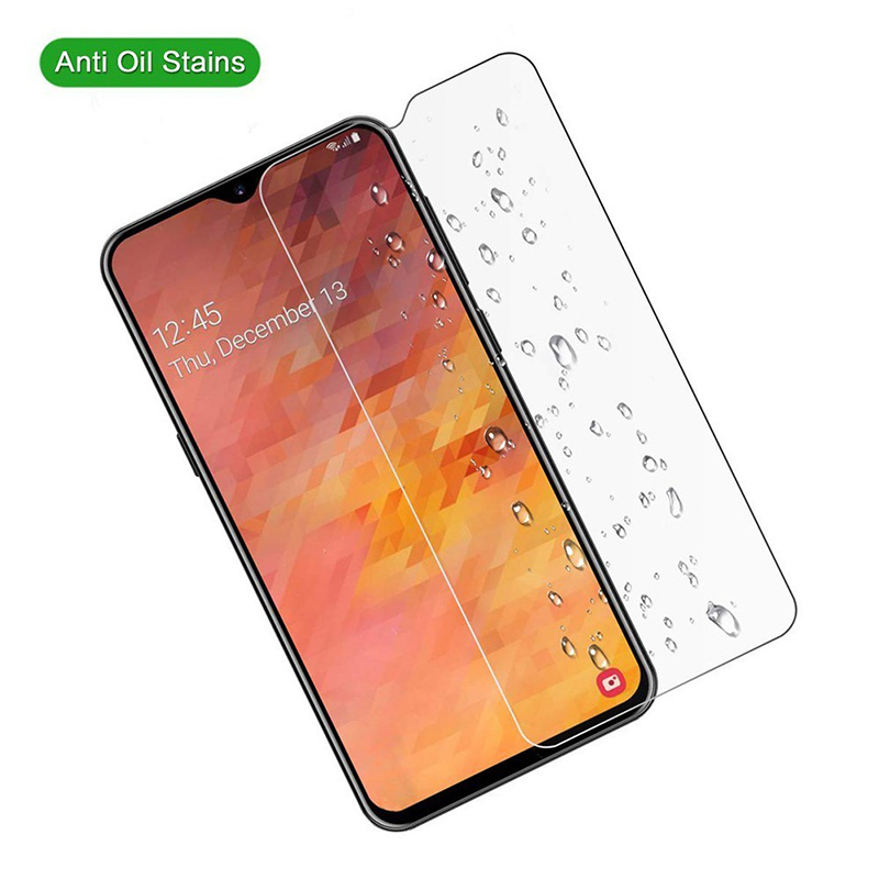 3pcs Protective Glass On for samsung galaxy M10 M20 M30 9H 2 5D screen protector for samsung galaxy A10 A20 A30 A40 A50 A60 A70 in Phone Screen Protectors from Cellphones Telecommunications
