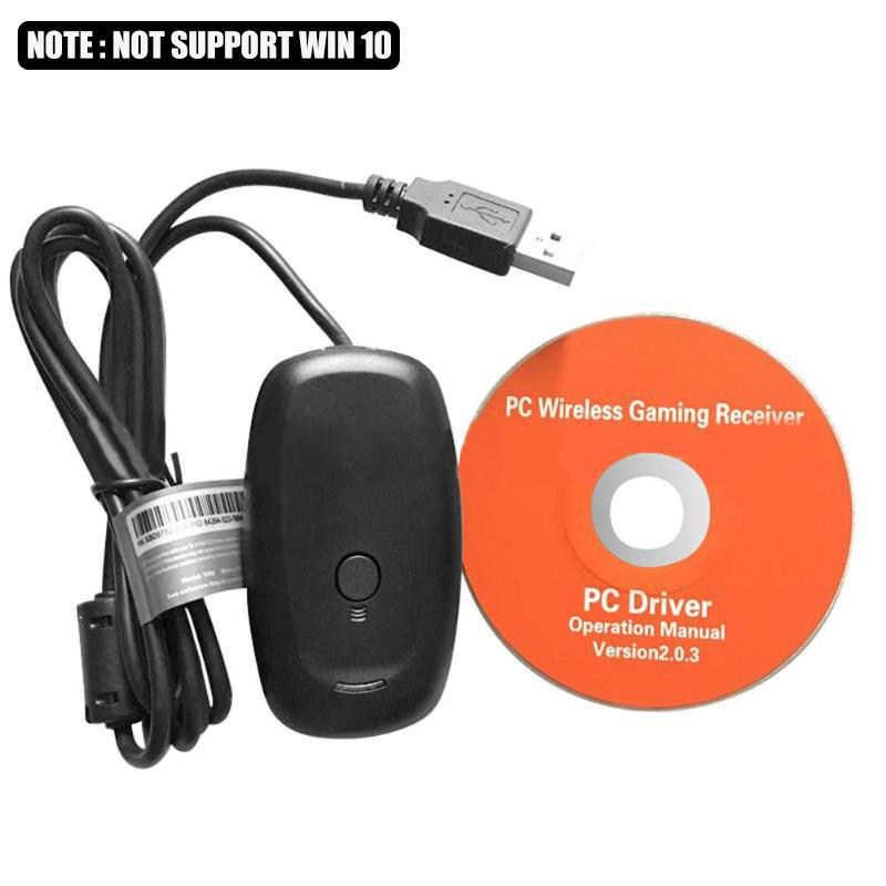 Black//white PC Kabellos  Controller Gaming USB Receiver Adapter for XBOX 360