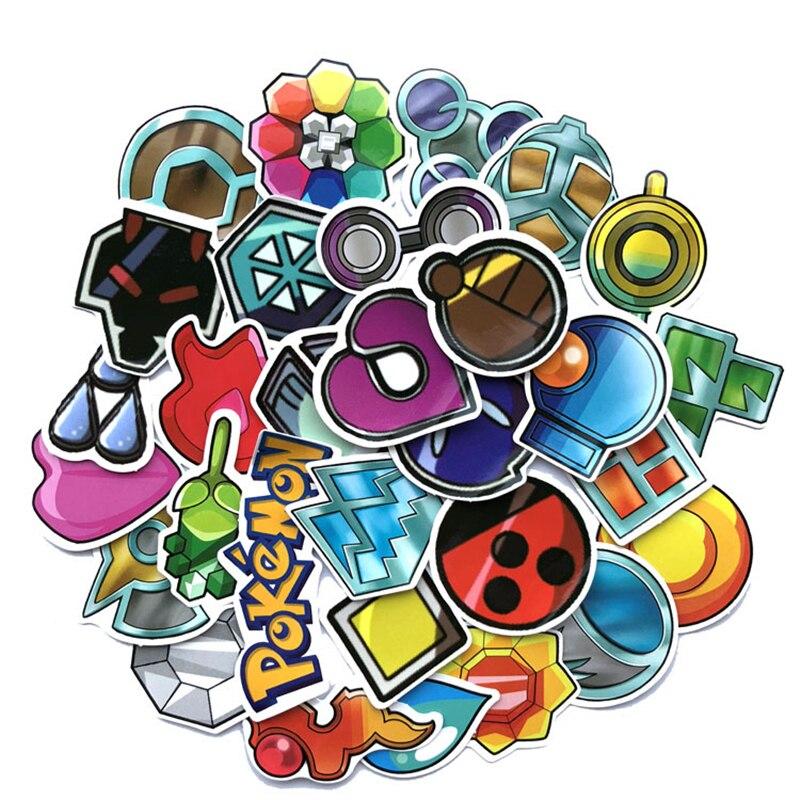 33pcs-font-b-pokemon-b-font-go-gym-badge-sticker-pvc-waterproof-for-phone-notebook-cosplay-prop