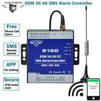 Alarm gsm 3G 4G komórkowy RTU SMS łącznik przekaźnikowy przemysłowe IoT zdalny monitoring System wbudowany watchdog 8DIN 2DO S150