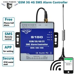 Image 1 - GSM 3G 4G komórkowy RTU SMS łącznik przekaźnikowy przemysłowe IoT zdalny Monitoring System wbudowany watchdog Alarm SMS jednostka S150