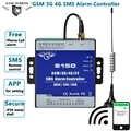GSM Alarm 3G 4G Cellulaire RTU SMS Relais Switch Industriële IoT Remote Monitoring Systeem ingebouwde watchdog 8DIN 2DO S150