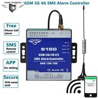 GSM Alarm 3G 4G Cellular RTU SMS Relais Schalter Industrielle IoT Remote Überwachung System in gebaut watchdog 8DIN 2DO S150-in Alarm System Kits aus Sicherheit und Schutz bei