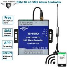 Interruptor de relé GSM 3G 4G Cellular RTU SMS, sistema de monitoreo remoto IoT Industrial, Unidad de alarma S150, reloj incorporado