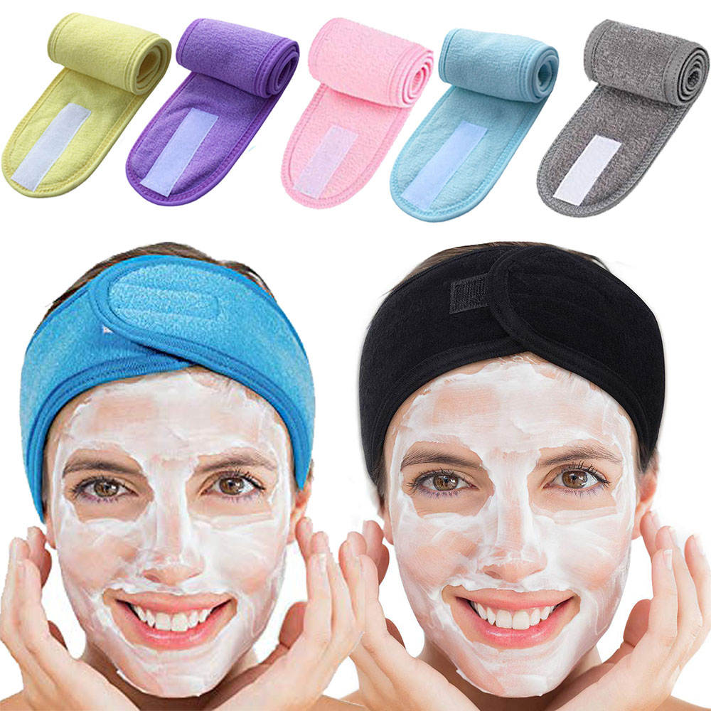 Towel-Head-Band Makeup Face-Wash Washable Non-Slip Sports