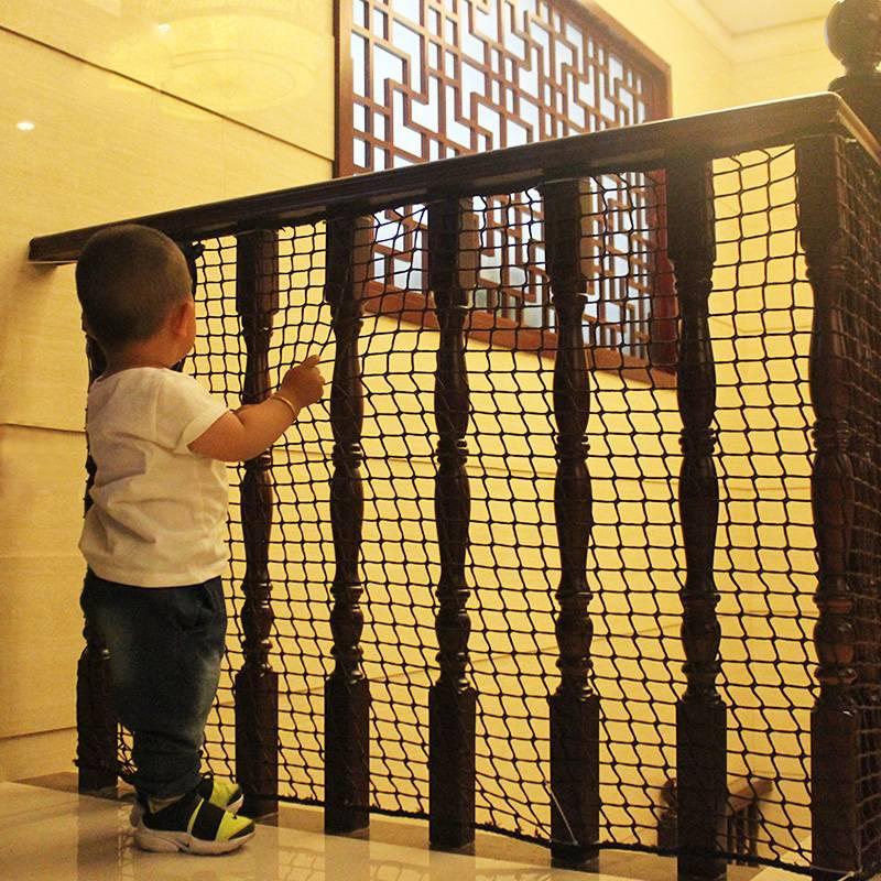 Malla De Seguridad Para Escaleras De Niños Barrera De Seguridad Para Patio De Recreo Escalera Balcón Valla Para Bebé Cuerda De Nailon Red Anticaída Cercas Enrejados Y Portones Aliexpress