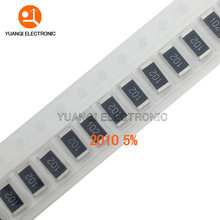 50pcs 2010 5% SMD resistor 3/4W 560R 620R 680R 750R 820R 910R 1K 1.1K 1.2K 1.3K 1.5K 1.6K 1.8K 2K 560 620 680 750 820 910 ohm