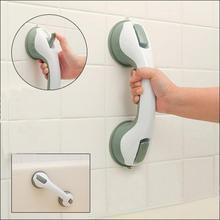 1pc Vacuum Sucker Suction Cup Handrail Grip Bathroom Safety Helping Handle Kids Elder Grab Bar Anti Slip For Glass Door Bathroom