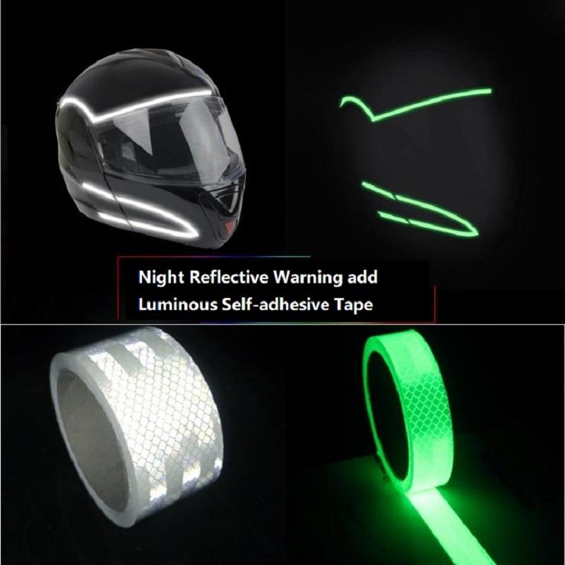Reflective Add Luminous Helmets Motorcycles Car-body Decorative Self-adhesive Tape Self-luminous Tape Self-adhesive Sticker