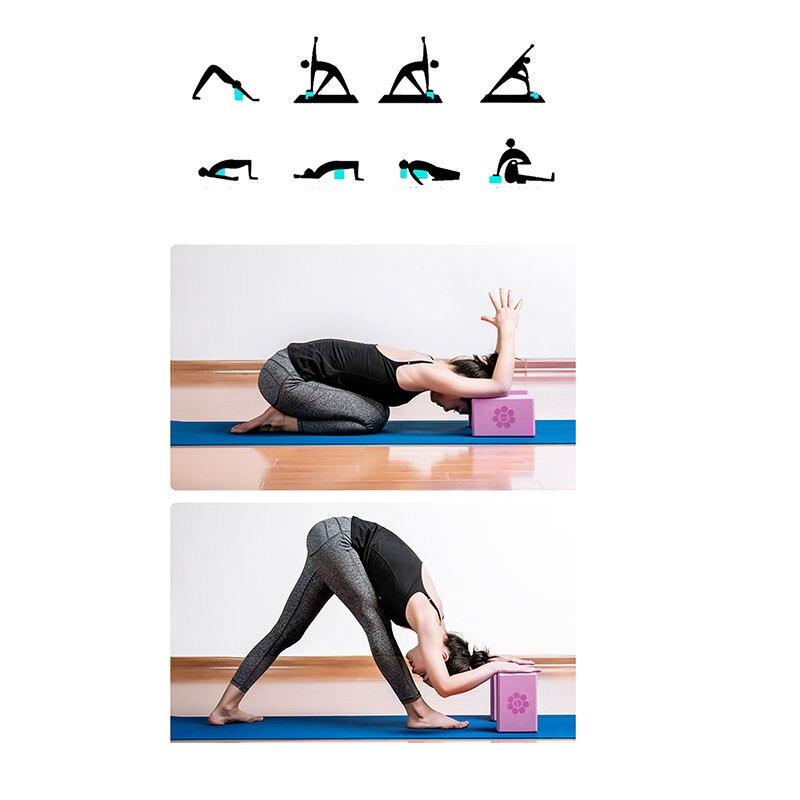 Eva yoga bloco tijolo pilates esportes exercício