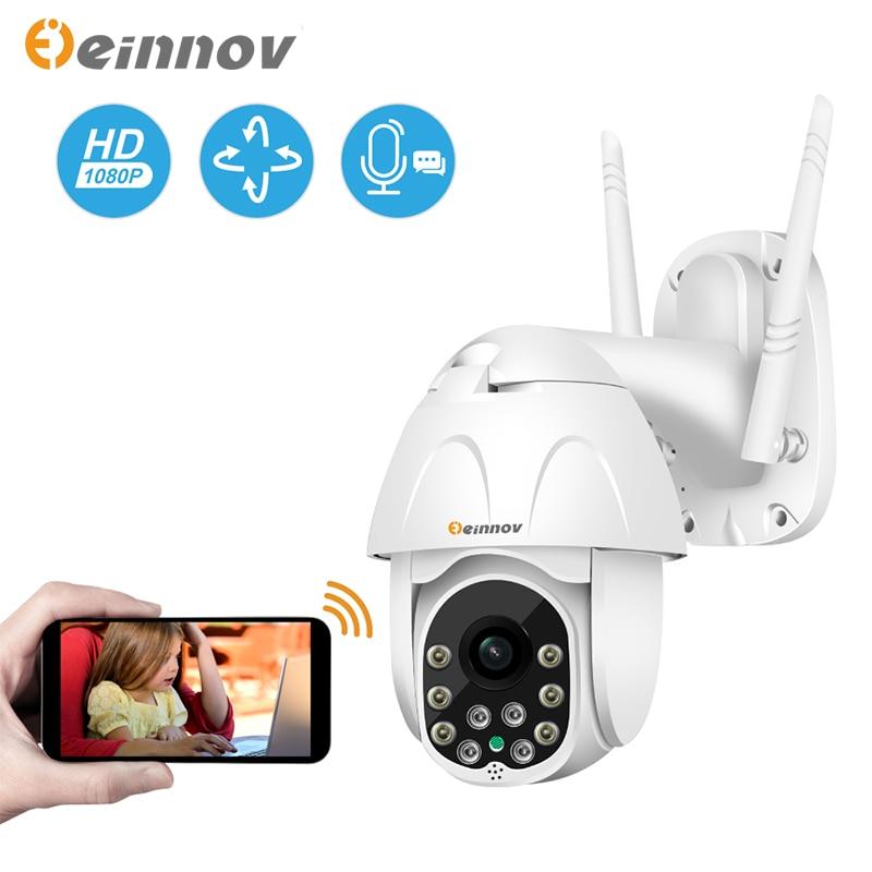 Einnov Wifi IP Camera Wireless Security Camera Outdoor 1080P HD Surveillance Camara Audio Onvif 2MP IR Night Vision P2P Yoosee