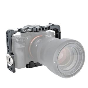 Image 4 - NICEYRIG DSLR soporte jaula de cámara para Sony A7MIII a7m3 A7RIII a7r3 A7RII a7r2 A7SII a7s2 A7II A7S A7R A7 dslr Rig Cámara Rig
