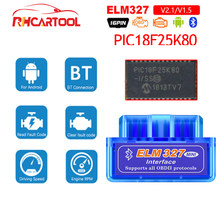 ELM327 V1.5 PIC18F25K80 OBD2 Bluetooth Scanner ELM 327 V1.5 2.1 For Android ODB2 Code Reader OBD 2 OBD2 Car Diagnostic Auto Tool(China)