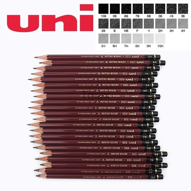 6 Pcs/lot Mitsubishi Uni HI UNI 22C Most Advanced Drawing Pencil 22 Type of Hardness Standard Pencils  Office & School Supplies