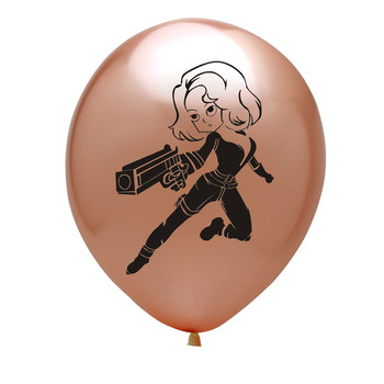 10pcs Super Hero Balloon Latex Balloons Spiderman Kids Spider man Birthday Party Decoration Baby Shower Balloons 27