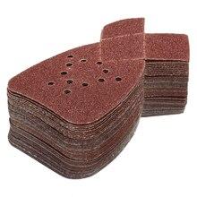 Шлифовальные Листы Black & Decker, 50 шт., 12 отверстий, оксид алюминия, 60- 240, для удаления краски, удаления заусенцев и полировки