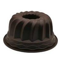 Gran hueco redondo 9 pulgadas de gasa de la torta engranaje del molde de la placa de silicona molde de la torta herramienta para hornear herramientas de decoración de la torta