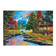 5D DIY diamond painting full round rhinestone 5D embroidery landscape cross stitch mosaic painting home decoration diy diamond embroidery dusk natural landscape painting cross stitch 5d full rhinestone mosaic home decoration