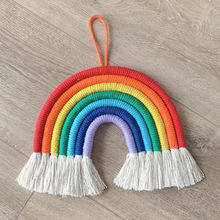 Home-Decoration Hanging-Toys Stroller Crib Bed Weaving Hand-Woven-Tassel-Macrame Wind-Chimes