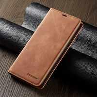 Custodia in pelle Per Samsung Galaxy A50 A30 A20 A10 A70 A40 A60 A20E A30S A50S Nota 10 S10 S10E S9 s8 Più S7 Bordo Flip Book Caso