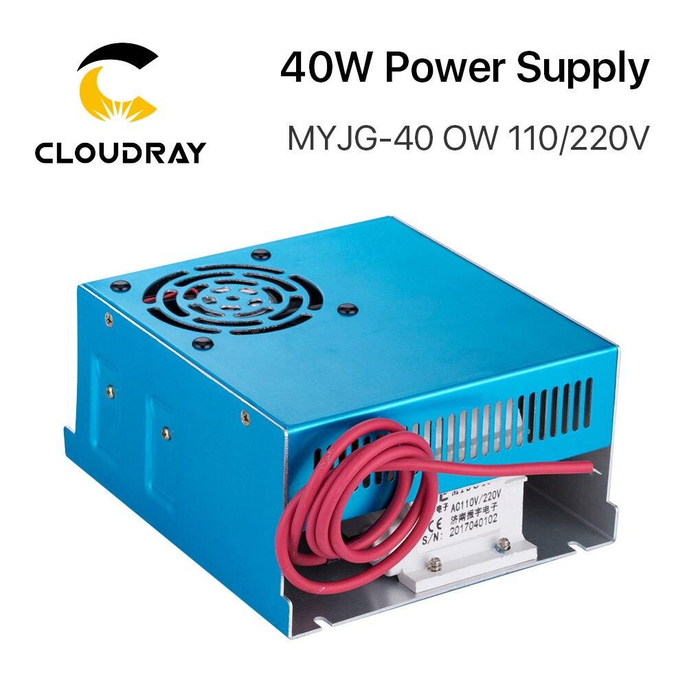 Alimentatore laser CO2 Cloudray 40W 110 V / 220 V per macchina da - Parti di macchine per la lavorazione del legno - Fotografia 2