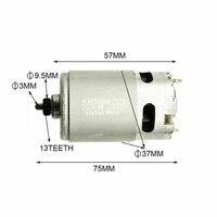 Motor durável de alta qualidade do tipo 14.4 v/13 dentes para bosch gsr 14.4-2-li psr14.4 Li-2
