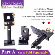 Startnow DIY CO2 лазерная головка набор Фокусирующая линза крепление для лазерного зеркала держатель Интегративная база для режущего станка металлические инструменты