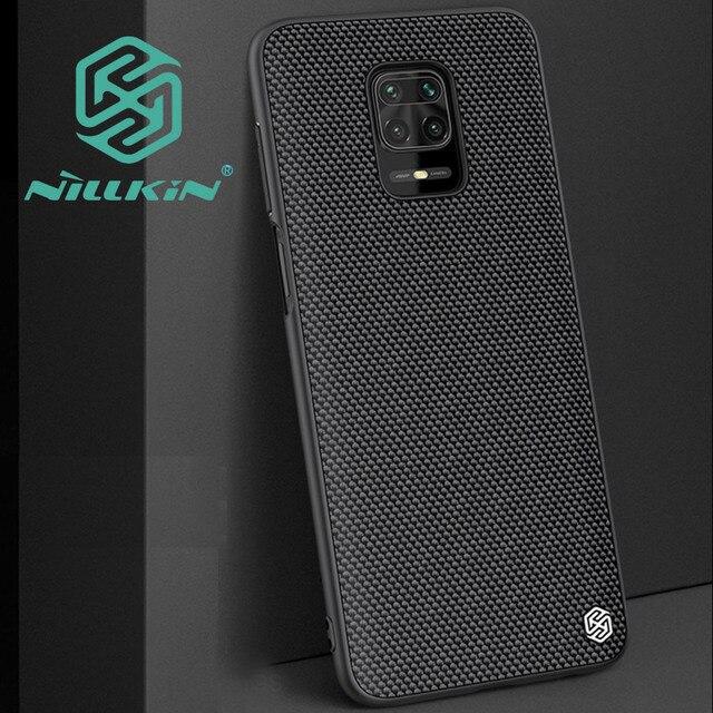 Nillkin Geweven Nylon Textuur Patroon Case Voor Xiaomi Redmi Note 9S Note 9 Pro Max Poco M2 Pro