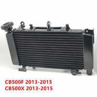 Partes del motor de la motocicleta radiador de aluminio de refrigeración refrigerador para Honda CB500 F X CB500F CB500X 2013-2015