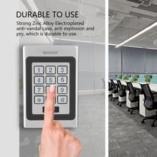 A7 wodoodporna IP68 karta RFID kontroler dostępu do drzwi klawiatura bezpieczeństwo System kontroli dostępu do drzwi tanie tanio DC 12V 2000 users 11 * 7 5 * 2 2cm 4 33 * 2 95 * 0 86inch 522g 18 41oz