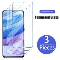 3 pezzi di vetro temperato a copertura totale per Xiaomi Redmi 9 9A 9C 9T 8A 7A 8 7 6A 6 pellicola salvaschermo per Redmi Note 9 7 8 Pro 9S 8T Glass