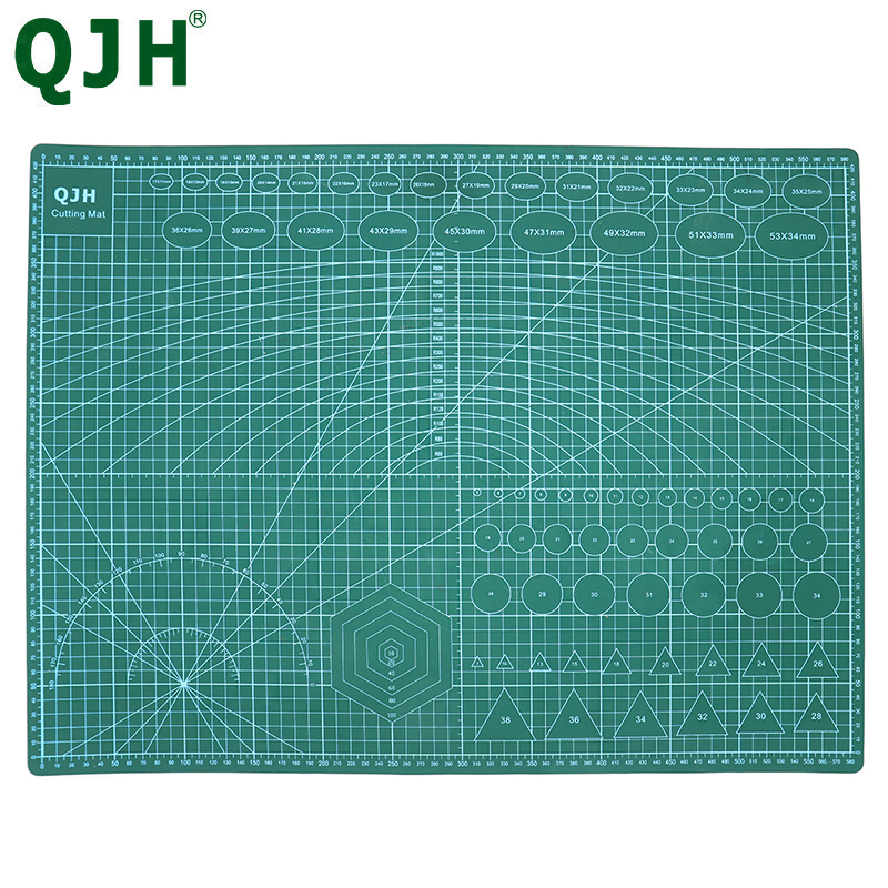A1 A2 A3 A4  PVC Cutting Mat Patchwork Cut Pad Manual DIY Leather Tool Cutting Board Double-sided Self-healing Cutting Pad