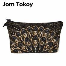 Jom Tokoy Waterproof Cosmetic Organizer Bag Makeup bag Printing Mandalas Fashion Women Multifunction Beauty 976