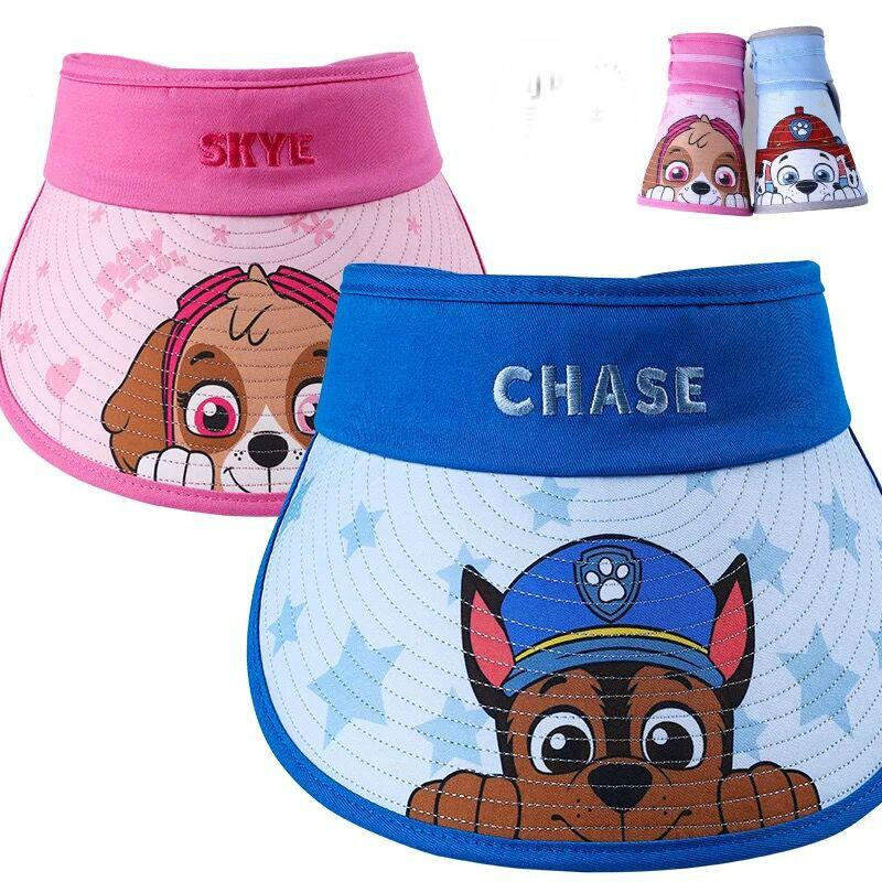 2020 Genuine PAW Patrol Children's Hats Caps Chase Skye Headgear Chapeau Puppy Patrol Summer Hat Kids Birthday Gift Children Toy