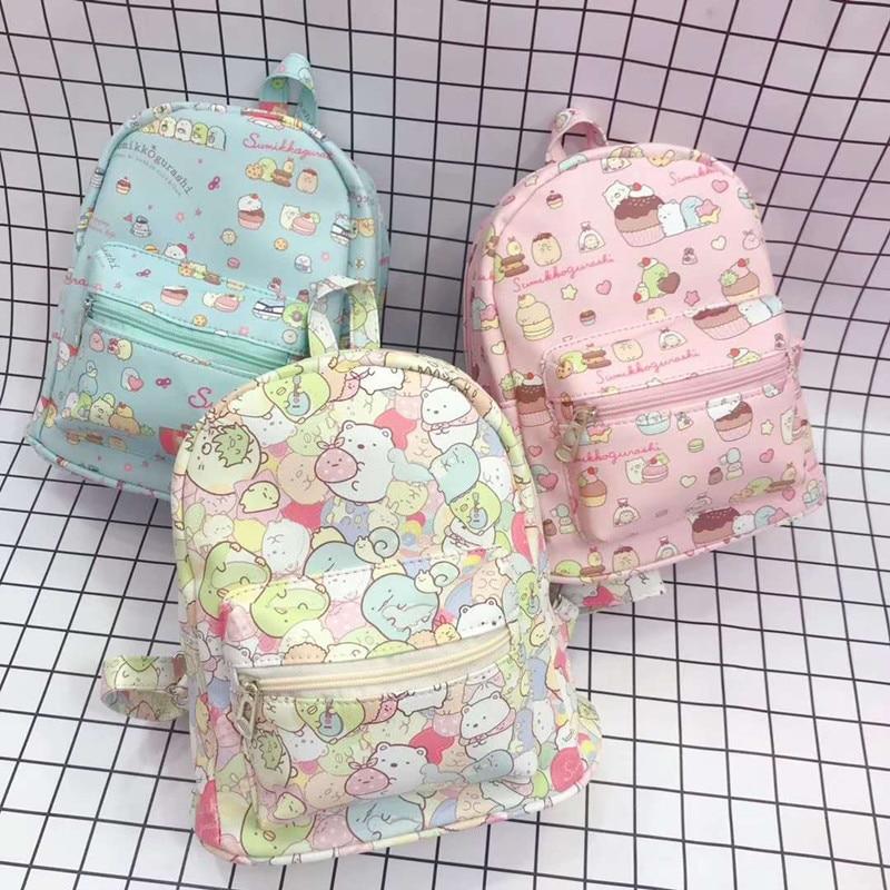 My Melody Cinnamoroll Pudding Dog Cartoon Sumikko Backpack Women Fashion School Laptop Bag Boys Girls Kawaii Travel Rucksack New