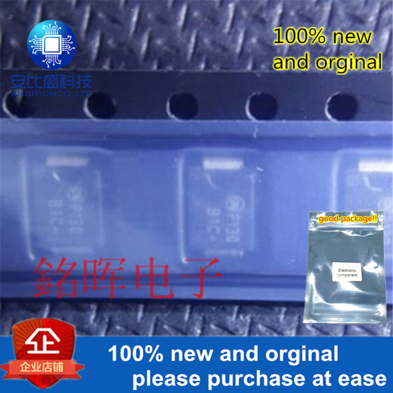 10pcs 100% New And Orginal MBRS1100T3G Silk-screen B1C DO-214AA In Stock