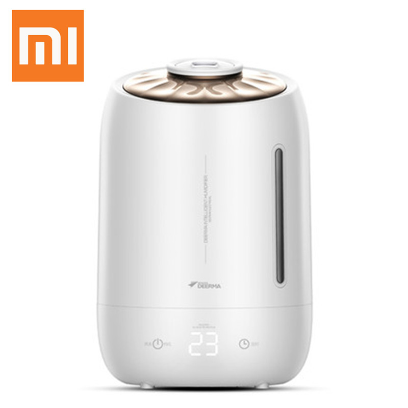 XIAOMI Deerma Air Humidifier Household Aroma Oil Diffuser Air Purifying Mist Maker Smart Touch Screen Home Mini Humidifier