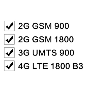Image 2 - 2G 4G Moblie Signal Repeater GSM 900 4G LTE / DCS 1800mhz Dual Band Cellular Signal booster 70dB Gain LCD Display 4G Verstärker