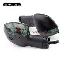 Para YAMAHA YZF R1 R6 R25 R3 R15 R125 XSR900 TDM900 XSR700 V-MAX 1700 XT1200Z Vire Luz Indicadora de Sinal Lâmpada Da Motocicleta Blinker