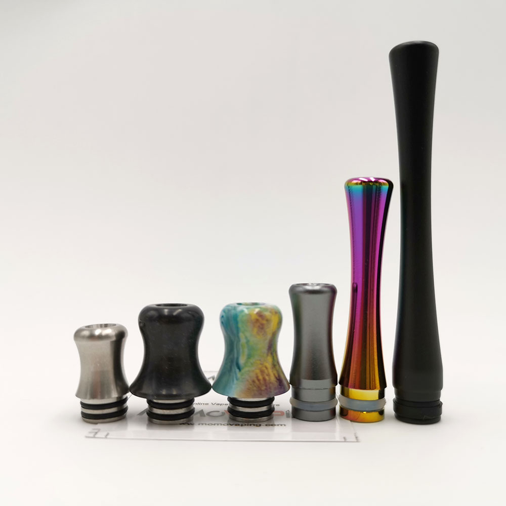 Small waist tower Shape Aluminum Stainless steel resin <font><b>510</b></font> type Driptip <font><b>Mouthpiece</b></font> Drip Tip image