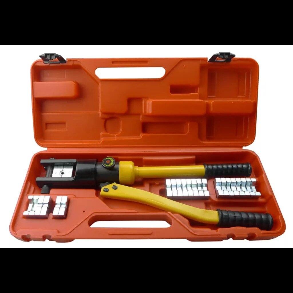 VidaXL outil de sertissage hydraulique de haute qualité adapté au sertissage de cosses en cuivre et Aluminium