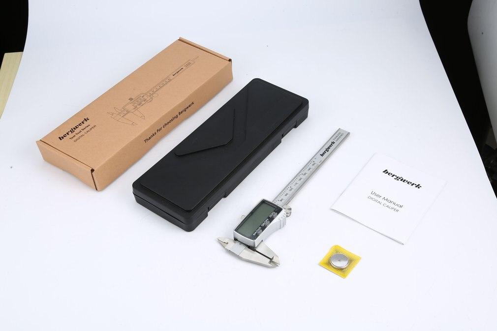 Stainless Steel 150mm Vernier Caliper digital Electronic Digital Caliper LCD Micrometer Measuring Tool 6 Inch Distances
