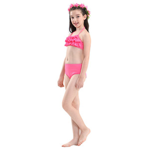Image 5 - 4 חתיכות בנות בת ים זנב לשחייה תחפושות ילדי ילדים Zeemeerminstaart קולה סירנת Cauda דה Sereia קוספליי Sparkle