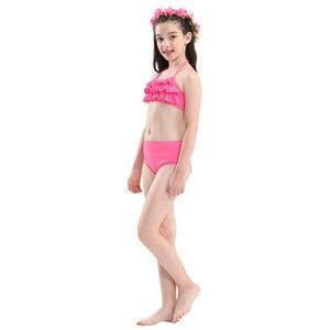 Image 5 - 4 шт., детский хвост русалки для девочек