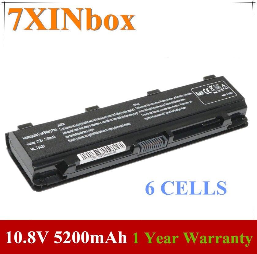 7XINbox 10.8V 5200mAh PA5024U-1BRS PA5023U1-BRS Laptop Battery for Toshiba Satellite Pro C850 L850 L870 M800 PA5023U PA5024U