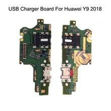 Плата зарядного устройства usb для huawei y9 2018 запасные части