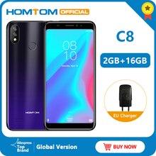 Global version HOMTOM C8 4G Mobile Phone 18:9 Full Display A